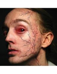 Blodådror - Fusktatuering för Halloweensminkningen