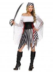 Stygga Stella - Piratdräkt för vuxna till maskeraden