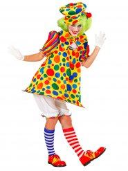 Färgglada Fia - Clowndräkt för vuxna