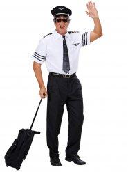 Flygkapten Felix - Maskeraddräkt för vuxna