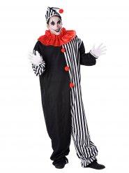 Fransk clown - Maskeraddräkt för vuxna