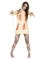 Bloody Mummy - Halloweendräkt för vuxna
