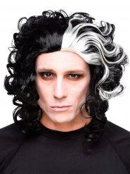 Mördande barberare - Peruk för vuxna till Halloween