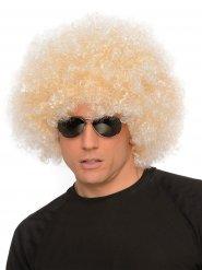 Enorm blond 70-talsafro till maskeraden
