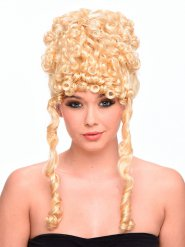 Antik peruk med lockar - Peruk för vuxna