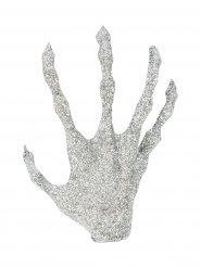 Häxhand som förvandlats till silver - Halloweendekoration