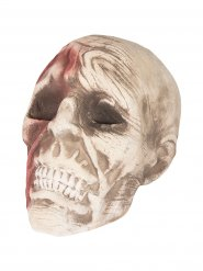Zombieskalle till Halloween 15 x 18 x 16 cm