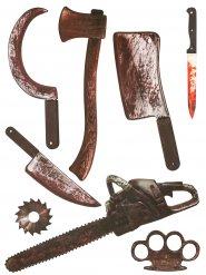 Klistermärken med blodiga vapen 75x70 cm