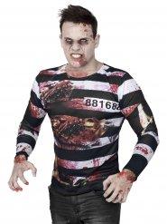 Zombiefångens tröja - Halloweendräkt för vuxna