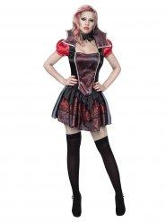 Tjusig vampyrklänning - Halloweenkostym för vuxna
