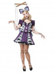 Söt marionett - Halloweenkostym för vuxna