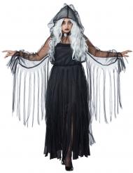 Elegant spöke - Halloweenkostym i stora storlekar