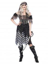 Gotisk pirat - Halloweenkostym för vuxna