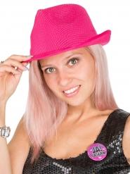 Tysk rosa hatt till möhippan