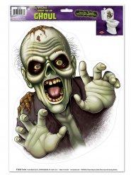 Halloweendekoration med läskigt monster