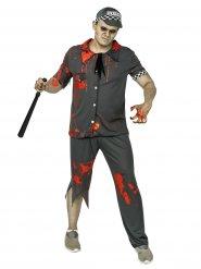 Konstapel zombie - Halloweenkostym för vuxna