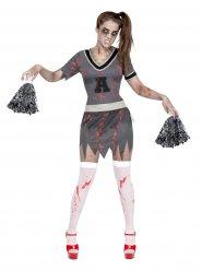 Zombiehejarklacksledare - Halloweenkostym för vuxna