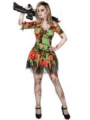 Sexig soldatzombie - Halloweenkostym för vuxna