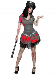 Zombiekonstapelns uniform - Halloweenkostym för vuxna