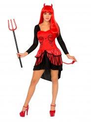 Djävulen bär en klänning - Halloweenkostym för vuxna