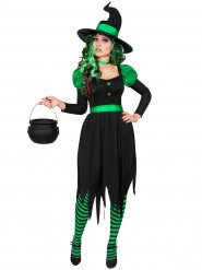 Grön häxa till Halloween