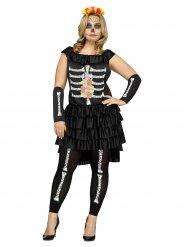 Señorita Muerta - Halloweenkläder för vuxna