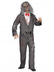 Zombieservitör - Halloweenkostym för vuxna