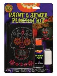 Halloween stickers färg och utsmyckning - Halloween pynt