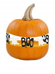 8 dekorationer på en spökpumpa - Halloween pynt
