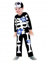 Ursött skelett - Halloween kostym för barn