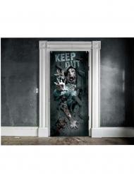 Zombieinfestation - Dörrdekor till Halloween 46 x 152 cm