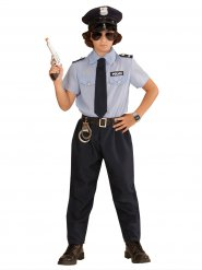 Polisuniform - Maskeraddräkt för barn