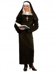 Humoristisk nunnedräkt i herrstorlek