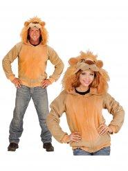 Lejonhoodie - Maskeraddräkt för vuxna