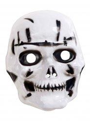Skelett - Halloweenmask för barn