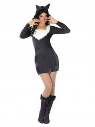 Stygga vargen - Maskeradkläder för vuxna