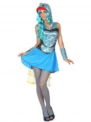 Fröken Fisk - Maskeraddräkt för vuxna