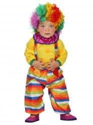 Clownen Sunshine - Maskeradkläder för småbarn