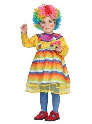 Clownen färgpricken - Clowndräkt för barn