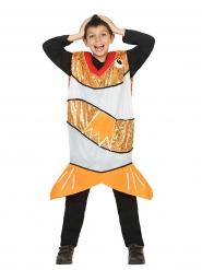 Clownfiskdräkt för barn till maskeraden