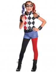 Harley Quinn™ - Lyxig maskeraddräkt för barn från Super Hero Girls™