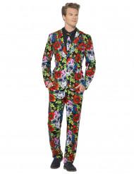 Mr. Skelett - Kostym till Dia de los Muertos för vuxna