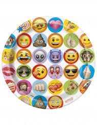 Emoji™ tallrikar i kartong 23 cm