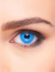 Blå kontaktlinser vuxen 3 månader