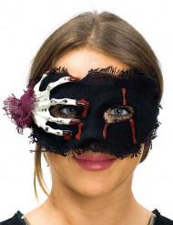 Maskeradmasken med skelett motiv - Halloween mask