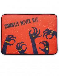 Zombieattack - Dörrmatta med ljud och ljus Halloween