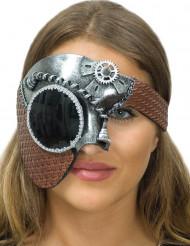 Fräck Steampunk mask för vuxna till maskeraden