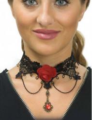 Gotiskt halsband till De dödas dag - Halloweensmycken
