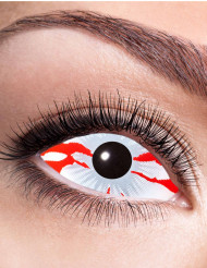 Blodsprängda linser -  till Halloweensminkning