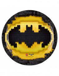 8 tallrikar från Lego Batman™ 23 cm